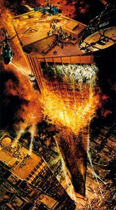The Towering Inferno - Art by John Berkey                                                                                                                                                      More