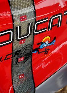 WideOpenMoto: NCR Ducati Fibreglass Fuel Gauge
