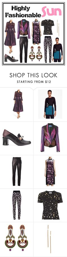"""Highly Fashionable"" by cate-jennifer ❤ liked on Polyvore featuring Eliza J, Brooks Brothers, Fendi, Thierry Mugler, Yves Saint Laurent, BCBGMAXAZRIA, Emanuel Ungaro, RED Valentino, Ayala Bar and BP."