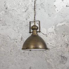 Dark Bronze Industrial Pendant Light Industrial Pendant Lights, Pendant Lighting, Pendant Light Fitting, Edison Lamp, Lighting Uk, Vintage Globe, Green Cream, Light Fittings, Bronze