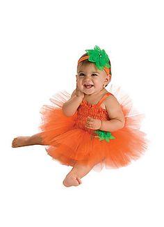 baby costumes rubies costume co newborn baby girls pumpkin tutu dress - Strawberry Halloween Costume Baby