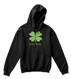 Lucky Clover Alexander & Kent Black T-Shirt Front