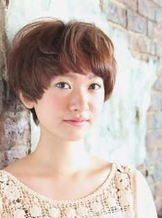 Japanese Short haircut with bangs-pin it from carden