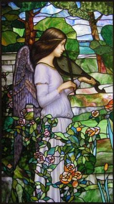 Photos of stained glass windows by V. Petersburg - Modern stained glass windows - V. Petersburg - Photos of stained glass windows Stained Glass Church, Stained Glass Angel, Tiffany Stained Glass, Stained Glass Windows, Mosaic Art, Mosaic Glass, I Believe In Angels, Stained Glass Projects, Angel Art