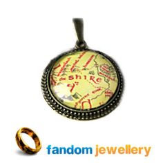 The shire map necklace