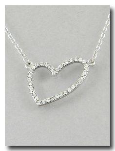 Heartbreaker Necklace in Silver from P.S. I Love You More Boutique. www.psiloveyoumoreboutique.com