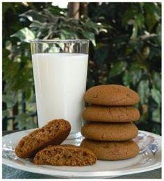 Biscuits à la mélasse moelleux Cookie Desserts, Sweet Desserts, Cookie Recipes, Dessert Recipes, Muffins, Biscuit Cookies, Cake Cookies, Low Carb Recipes, Vegetarian Recipes