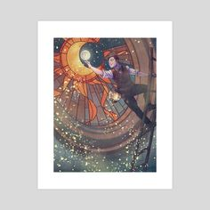 The Astronomer by Stefanie Masciandaro