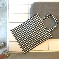 TWIN MINI bag (check)