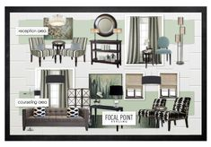::: FOCAL POINT :::: Sneak Peek at a Makeover Project - Pulling together look of office + reception area