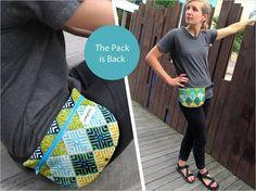 Image result for free pattern waist bag