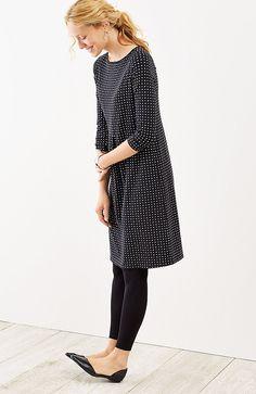 Wearever center-pleat dress