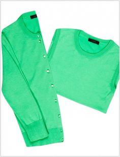 Sweater Sets via @WhoWhatWear