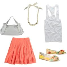 A wonderful outfit for a first summer date or a summer concert!