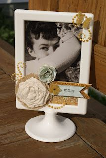 Sheila Burns, ikea frame, altered project, craft, flowers, mother's day