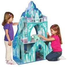 Frozen Inspired Ice Mansion Dollhouse by Teamson Only $89.99 – Normally $213!