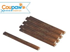 "Standard 7"" Bully Sticks (8-Pack) on sale w/ free shipping @Coupaw.  All Natural, healthy, popular dog chews!"