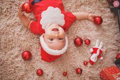 Baby Christmas Photos, Newborn Christmas, Family Christmas, Cute Baby Boy Images, Cute Baby Pictures, Baby Photos, Natal Baby, Baby Girl Photography, Baby Girl Birthday