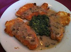 Parmesan Crusted Breast of Chicken - Vincent's Italian Cuisine/New Orleans