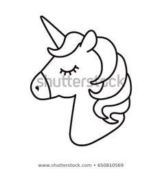 Unicorn vector Horse head sleep Colored book Black and white sticker icon is New Ideas Unicorn vector Horse head sleep Colored book Black and white sticker icon is New Ideas Sosyal hastybessite zeichnungen black nbsp hellip Unicorn Coloring Pages, Cute Coloring Pages, Coloring Books, Unicorn Outline, Unicorn Drawing, Unicorn Head, Cute Unicorn, Diy Unicorn, Unicorn Emoji