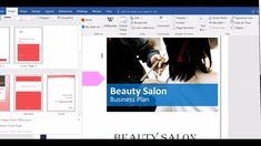 Salon business plan cover page Salon Business Plan, Business Plan Example, Business Planning, Drop Cap, Cover Pages, Layout Design, Salons, How To Plan, Lounges