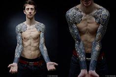 Dotwork sleeves, chest, and back | Nazareno Tubaro - Imgur