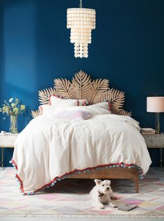 Carved Frond Bed #Anthrohome