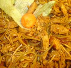 Wok, Lunch, Meat, Chicken, Ethnic Recipes, Eat Lunch, Lunches, Cubs