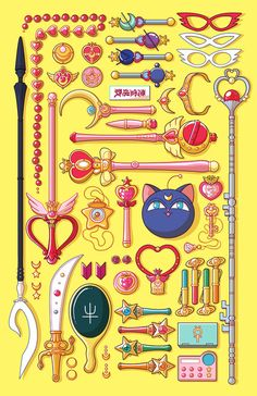 Incredible assortment from Sailor Moon.