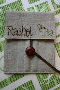 The Sometimes Crafter: Tutorial :: Rachels Crochet Hook Case...note: make a bit bigger for knitting needles
