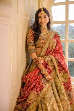 Indian Bridal Outfits, Indian Bridal Fashion, Indian Fashion Dresses, Indian Bridal Wear, Dress Indian Style, Indian Gowns, Indian Designer Outfits, Wedding Lehenga Designs, Designer Bridal Lehenga