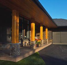 modern exterior pillars - Google Search