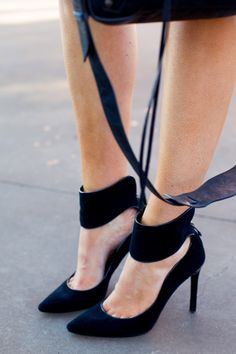 Black Stilettos From theyallhateus.com #stilettos #black pump #black shoe #black heels #black high heel shoes #women's black shoe #black stilettos