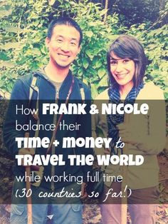 How this couple manages to travel extensively while working full time, maximizing their short American vacation time. Read here: http://www.nomadwallet.com/this-traveling-couple-and-their-short-american-vacation-time/