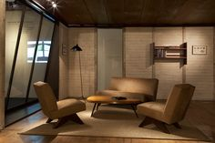 reconstruction of the prefab Maison Demontable 8x8 by Jean Prouve at design miami