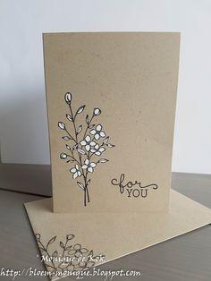 Paper Cards, Diy Cards, Mail Art Envelopes, Karten Diy, Card Drawing, Envelope Art, Watercolor Cards, Flower Cards, Creative Cards