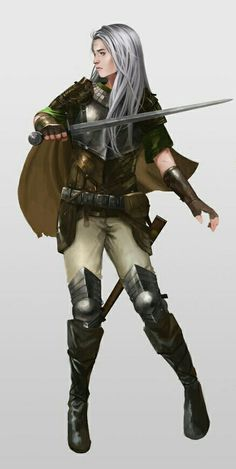 Female Inquisitor - Pathfinder PFRPG DND D&D d20 fantasy