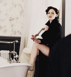 """So hot for Laura Pulvar as """"The Woman!"""" Irene Adler. She'd be fun in bed ;) ;) <3"""