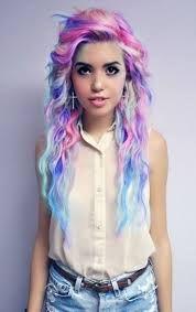 hair multicolor