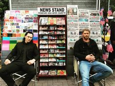 Thor and Loki just selling papers