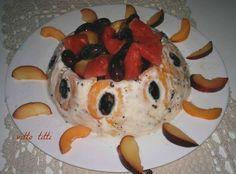 Corona+di+gelato+con+macedonia