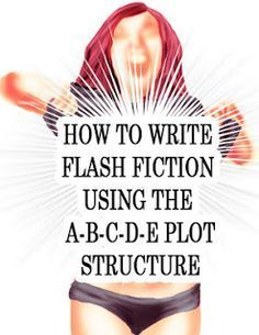 flash fic - How to write flash fiction using the ABCDE plot structure. Very basic but straightforward. Writing Quotes, Fiction Writing, Writing Advice, Writing Resources, Writing Help, Writing Skills, Writing A Book, Short Story Writing Prompts, Writing Studio