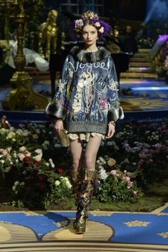"""#SuzyCouture: D&G - when music is the force of fashion: Domenico Dolce and Stefano Gabbana partner high opera with """"Alta Moda"""" for a weekend of couture for the super-rich."""