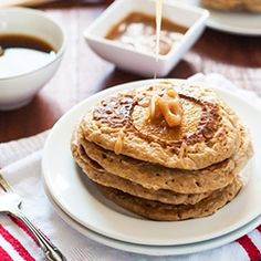 Browned Butter Pear Spiced Pancake