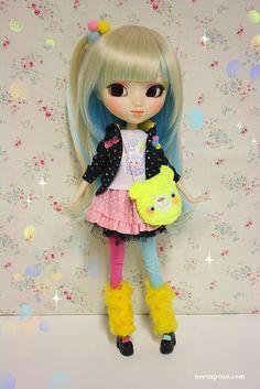 Kana Rainbow custom Pullip :) by Keera, via Flickr