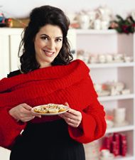 """Nigella's """"How to Throw A Holiday Party"""". Can I just listen to her talk? I think that's what I'd like to do."""