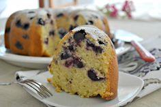 Bundt Cake de Blueberries y Limón
