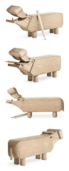 nijlpaard design Kay Bojesen