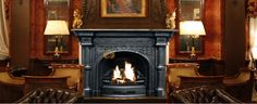 slide 2 Luxury Fireplace to Keep Warmth in Winter 2014 Home Appliances, House Design, House, Home, New Homes, Interior Design, Whiskey Room, Fireplace, Wood Stove