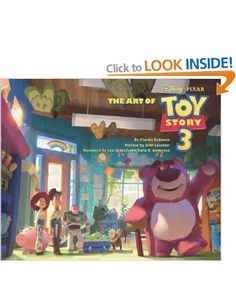 """Art of """"Toy Story 3"""": Amazon.co.uk: Charles Solomon, John Lasseter: Books"""